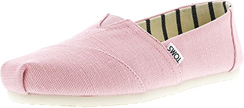 (TOMS Womens Venice Casual Lifestyle Shoe, Powder Pink, 7.5 B(M) US)