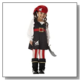 Pirate Girl's Costume