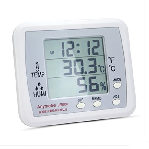 RUIX Thermo-Hygrometer Home Indoor Baby Room High-Precision Multi-Function Digital Display by RUIX