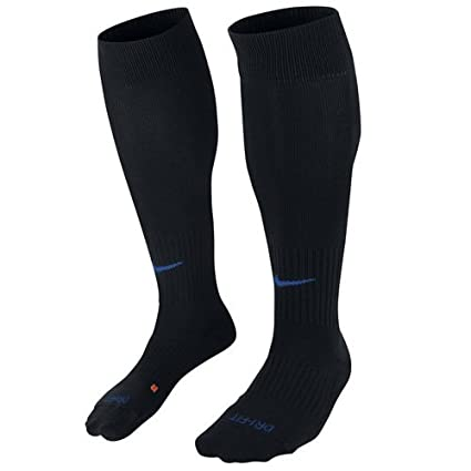 6001493b5 Image Unavailable. Image not available for. Color: Nike Cushioned Classic  Dri-Fit Soccer Socks Black (Small Womens ...
