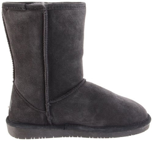 608W Women's Bearpaw Charcoal Emma Boots Charcoal short O8Otwdq