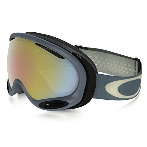 Oakley A Frame 2.0 Adult Asian Fit Goggles - Distress Paint Pink Oxide/Prizm HI Pink / One - Oakley Frame 2.0 A Goggles Prizm