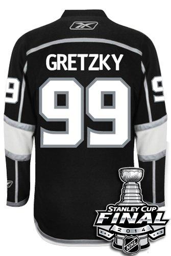 7efe06f86 ... best price wayne gretzky los angeles kings reebok premier home jersey  nhl replica with 2014 stanley