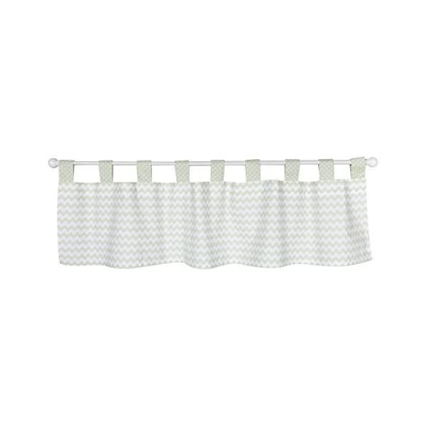 Trend Lab Sea Foam Window Valance, Sage