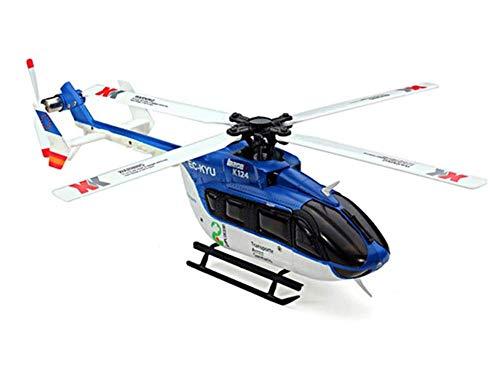 XK K124 6CH Brush less EC145 3D6G System RC Helicopter RTF