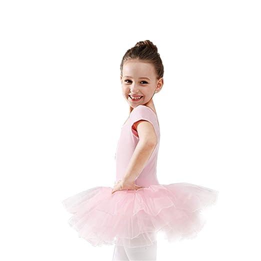 Los niños bailan trajes de vestir Niños Niñas Ballet Dance Leotard ...