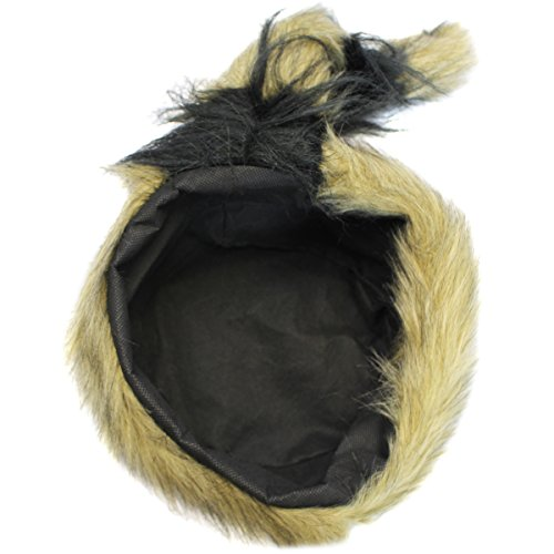 1850646b2c1 Coonskin Cap - Daniel Boone Hat Raccoon Tail Hats Novelty Hat by Funny  Party Hats