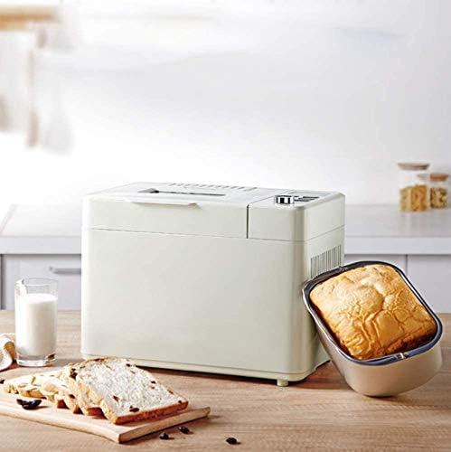 VIVICL Machine à Pain Multifonctionnelle Automatique en Acier Inoxydable Intelligent Fruit Spreading Double Silent Material for Bread Machine 19 Items Menu, Home Breakfast Machine
