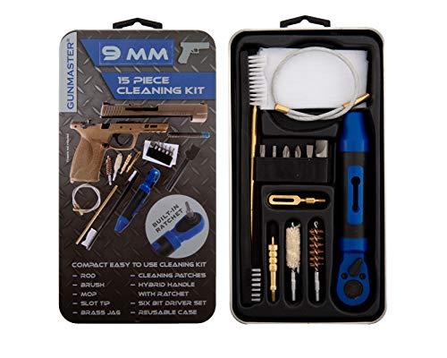Gunmaster Slim Line 9mm Pistol Cleaning Kit (15pc)