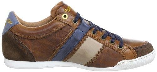 Pantofola d'Oro Pesaro Prep Low - Brogue de cuero hombre, color marrón, talla 41