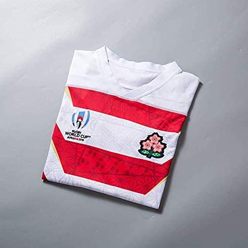 Rugby Fan T-Shirts Print Top Short Sleeve for Men 2019 World cup Team Japan Men Rugby Jersey