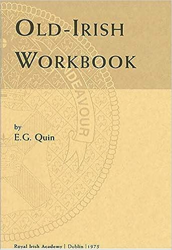 Old-Irish Workbook