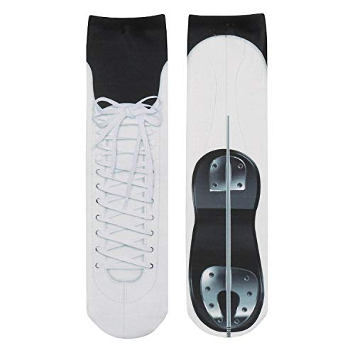 What On Earth Unisex Sublimated Ice Skate Socks]()