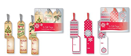 Christmas Holiday Present Hangers Assorted