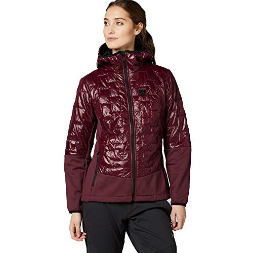 Helly Hansen Women's W Lifaloft Hybrid Insulator Jacket, Wild Rose, - Hansen Hybrid Helly