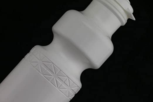 2 QTY California Springs DuoFlow 24oz Ounce Bicycle Water Bottles White NEW