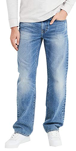 American Eagle Mens 4578987 Original Bootcut Jean, Light Vintage 32x32