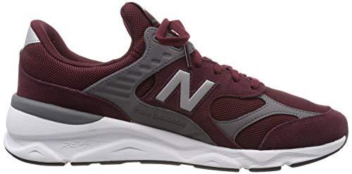 Balance burgundy Sneaker Rosso Uomo Ci New X 90 castlerock adZHcFq
