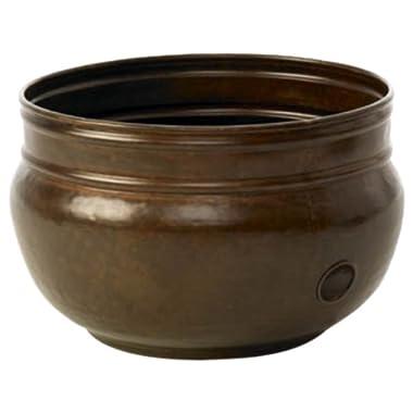 Liberty Garden Products 1901 Rustic Garden Hose Pot - Rustic