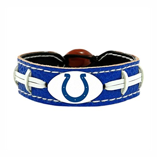 Indianapolis Colts Team Color NFL Football Bracelet ()