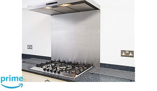 Tapa de acero inoxidable satinado para cocina o campana de ...