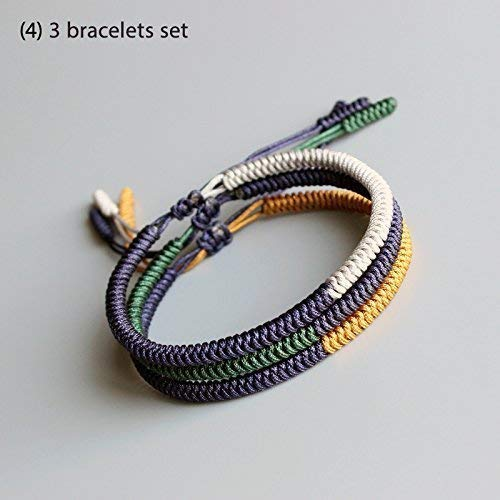5ef9176a4b TALE Lucky Rope Bracelet Tibetan Buddhist Handmade Knots - Prosperity
