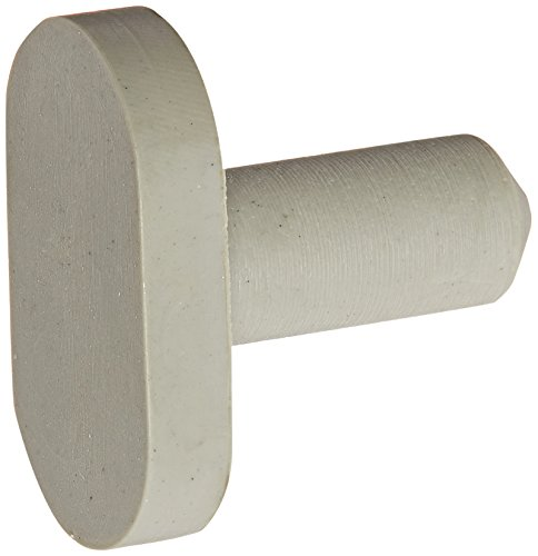 Ives Commercial SR65BG Door Silencer for Wood Frame, Rubber, 100 per Bag ()