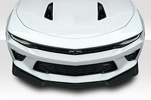 Rear Fiberglass Lip - Duraflex ED-CMX-012 Arsenal Front Lip Spoiler - 3 Piece Body Kit - Compatible For Chevrolet Camaro 2016-2018