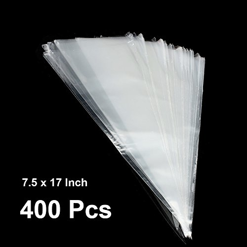 The Elixir Party Crystal Clear Cellophane Cone Shaped Tre...