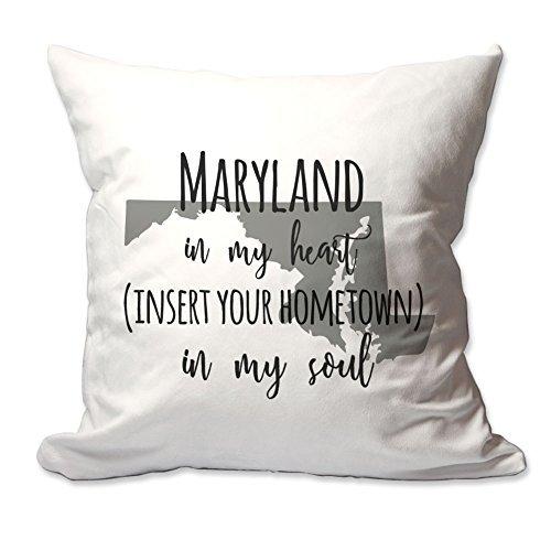Personalizado MARYLAND en mi corazón [su ciudad natal] en mi ...