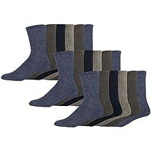 Dockers Basic Cushion Crew Socks, 18 Pair