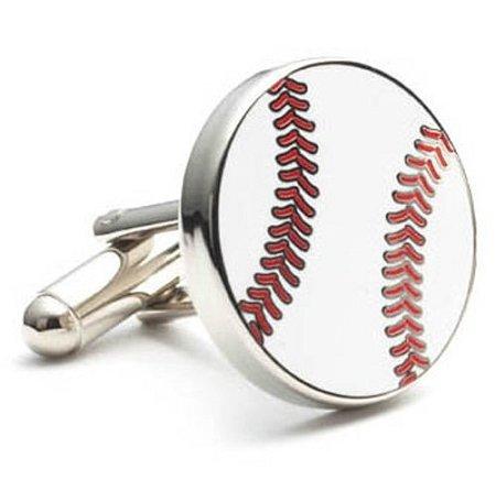 APEX Baseball Themed Executive Cufflinks with Gift Box Executive Cufflinks