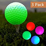 Led Golf Balls for Night Training Night Golf Balls Glow in Dark Perfect for Golf Long Distance Shooting