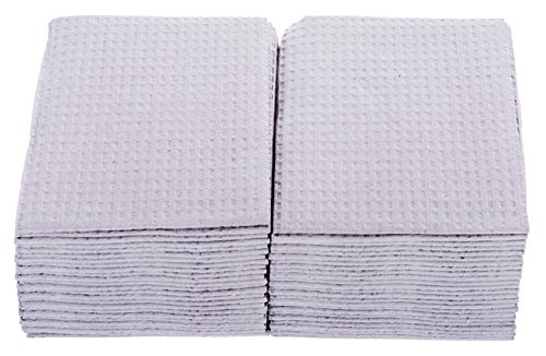 3-Ply Waterproof Dental/Tattoo Bibs Gray 50/PK (Poly Towels)