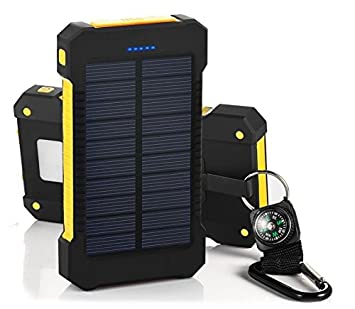 Amazon.com: Sunsun99 - Cargador de batería solar portátil ...