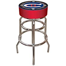 NHL Montreal Canadiens Padded Throwback Bar Stool