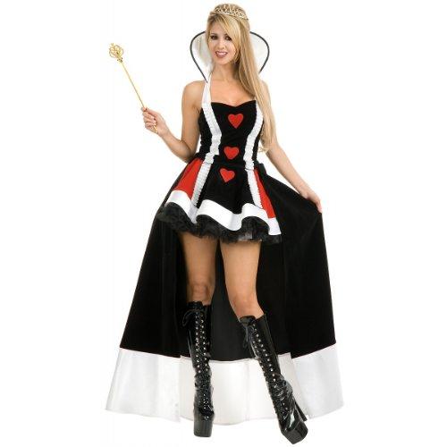 Enchanted Queen of Hearts Adult Costume - (Enchanted Queen)