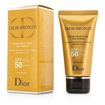 クリスチャンディオール Glow Dior Protective Bronze Beautifying Protective Creme B01DS24ORQ Sublime Glow SPF 50 For Face 50ml B01DS24ORQ, 格安SALEスタート!:68999971 --- forums.joybit.com
