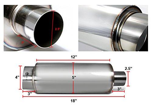 Spec-D Tuning MF-RS341 Muffler