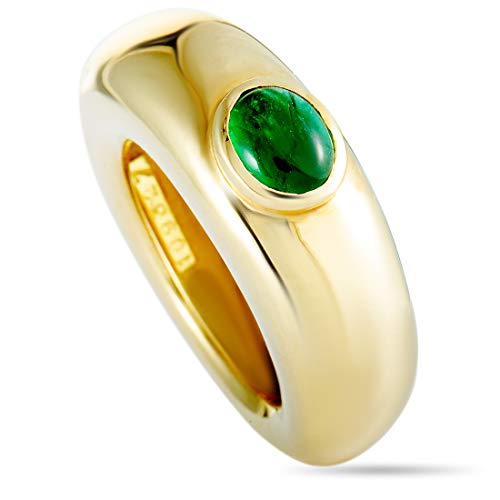 Chaumet (Est.) Chaumet 18K Yellow Gold Emerald Ring ()