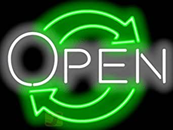 Eco Open Neon Sign Picture Lights Amazon #1: 417eYy9 4KL SX342 QL70
