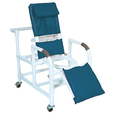 Wheeled Reclining Shower (Wheeled Reclining Shower/Commode Chair with Legrest Wheeled Reclining Shower/Commode Chair with Legrest, without Pail)