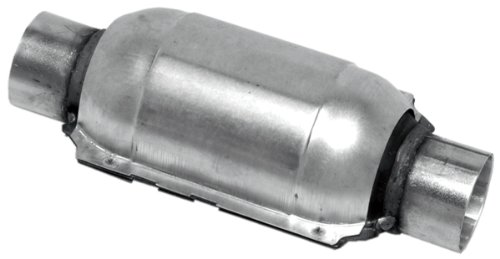 Honda Civic Universal Catalytic Converter - Walker 15026 EPA Certified Standard Universal Catalytic Converter