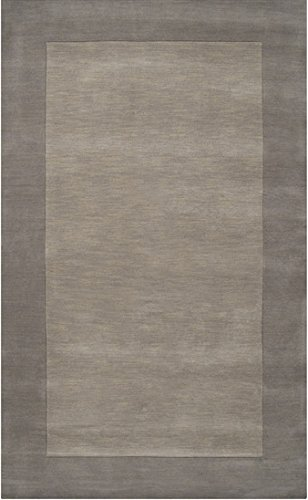 Surya Mystique 3'3 x 5'3 Hand Loomed Wool Rug in Gray