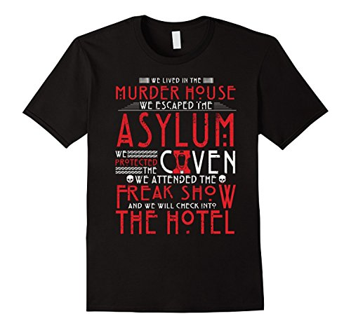 Junction American Horror Story Freak Show Clown Face Adult T-Shirt (Horror Tshirts)