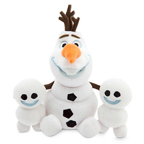 Disney Olaf and Snowgies Plush Bundle - Mini Bean Bag - 8'' - Frozen Fever by Disney Frozen