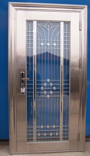 Beautifil Stainless Steel Entry Door; Residential or Commercial