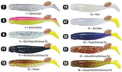 Mirrolure MRMM-48ST Marsh Minnow 3-3//4 Bourbon Sparkle Tail