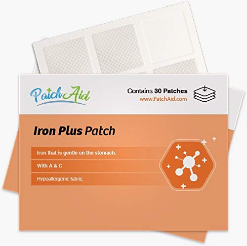 Iron Plus Topical Patch by PatchAid (12-Month Supply)