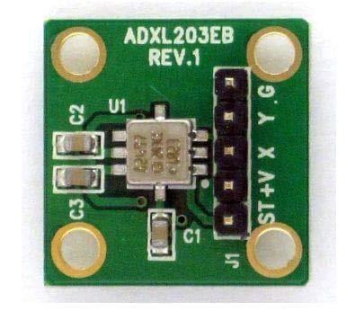 (Acceleration Sensor Development Tools EVAL BRD ADXL203 (ADXL203EB))